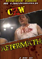 CZW Wrestling: Aftermath Double DVD, Necro Butcher Ian Rotten IWA Mid South