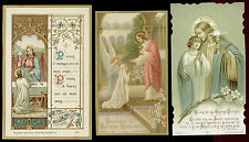 lotto santini-holy cards lot-lot images pieuses-konvolut heiligenbildichen 2500