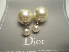 DIOR *New* 2017 TRIBAL Earrings PEARL - GUARANTEED AUTHENTIC - RECEIPT!