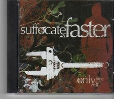 (FX858) Suffocate Faster, Only Time Will Tell - 2005 CD