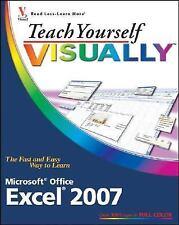 Teach Yourself VISUALLY Excel 2007 (Teach Yourself VISUALLY (Tech))-ExLibrary