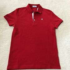 MOSCHINO PREMIUM MADE IN ITALY MEN`S POLO SHIRT Size Small