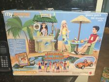 Barbie My Scene Guava Gulch Tiki Lounge Play Set.  Jammin' in Jamaica