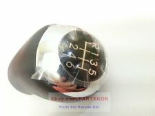 FIT 2012~2015 HYUNDAI i30 Elnatra GT 6 SPEED MANUAL LEATHER GEAR SHIFT KNOB