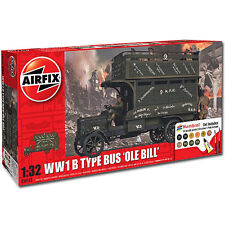AIRFIX WWI Old Bill Bus Gift Set 1:32 Aircraft Plastic Model Kit A50163