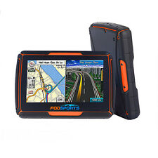 "4.3"" Bluetooth GPS Navigator 8GB With TFT Waterproof TouchScreen For Motorcycle"