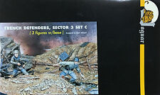 Jaguar Models 1/35 Trench Defenders, Sector 3 Set C (3 Figures and base) 63607