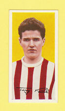 FOOTBALL - BARRATT - FOOTBALL CARD -  TERRY  PAINE  OF  SOUTHAMPTON  -  1961