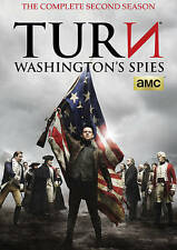 NEW TURN: Washington's Spies: Season 2 (DVD, 2016, 3-Disc Set)