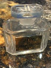 1 Large Joy De Jean Patou Paris Empty Perfume Parfum Made in France