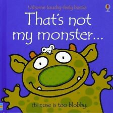 That's Not My Monster...Usborne Touchy-Feely Books