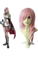 Final Fantasy Lightning Pink Cosplay Wig