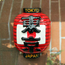 Japan's Lantern 3D Resin Decorative Fridge Magnet City Tourist Travel Souvenir