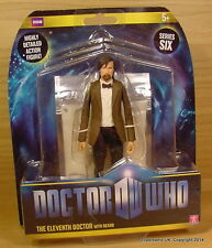 Doctor Dr Who Matt Smith 11th Brown Jacket with Beard Figure MOC!