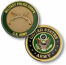 Military Police Corps Challenge Coin United States Army Seal MP Branch Plaque US
