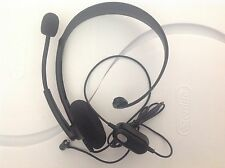 XBOX 360 Genuine Microsoft Wired Headset -