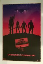 Guardians Of The Galaxy Imax Exclusive Movie Poster Lithograph Art Print-HTF