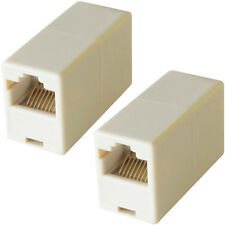 RJ45 Straight Wired Coupler  - Socket to Female - CAT5/CAT6 Joiner LAN Adapter