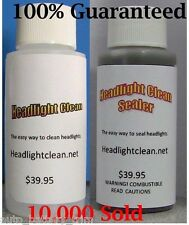 Headlight Restoration Kit Cleaner And Sealer Professional Strength