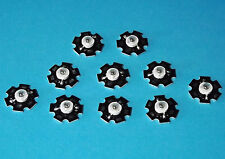 10 x 3w 850nm ir Power LED on Heatsink disipador térmico emisores infrarrojos Infrared 5mm