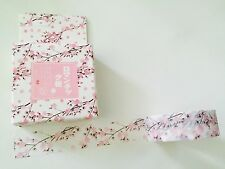 WASHI TAPE: PINK CHERRY BLOSSOMS BOXED WASHI TAPE- BRAND NEW
