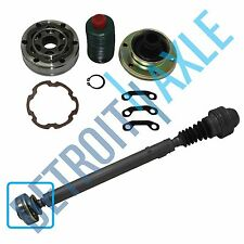 Detroit Axle Brand New Front Driveshaft Complete CV Joint Kit- Jeep Trucks 4x4