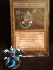 YUGIOH Dungeon Dice Monsters DDM - Winged Dragon Guardian/Fortress #1 fig & card