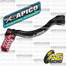 Apico Black Red Gear Pedal Lever Shifter For Honda CR 125 2001 Motocross Enduro