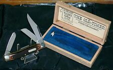 Schrade Walden 8OT Knife Pre-65 Old Timer Packaging Full Swage W/Long Pull Rare