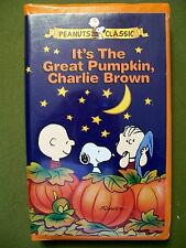 IT'S THE GREAT PUMPKIN, CHARLIE BROWN 1996 CLAMSHELL