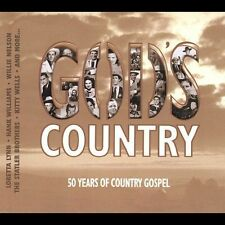 GOD'S COUNTRY 2 CD SET 50 Years Of Country Gospel 41 Tracks/Jones/Tubb/Acuff++++