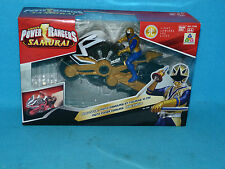 POWER RANGERS SUPER SAMURAI GOLD RANGERS DISC CYCLE BOXED NEW