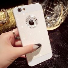 Luxury Bling Glitter Crystal Hard Back Phone Case Cover For iPhone 5s 6+ 7+ Plus