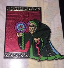 Disney Pin Reveal Conceal Beauty And The Beast 25th Begger Witch Enchantress