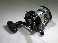 Garcia AMBASSADEUR BLACK 5000C Reel with HTF Optional Handle & Manual - UNUSED?