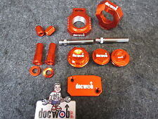 Doc Wob KTM SX/SXF 125-450 2013-2015  factory alloy orange bling kit KT4788