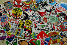 50 Pezzi Adesivi Skateboard Graffiti Laptop Valigia Auto Moto Decalcomanie mix