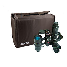 Insert Partition DIY Padded Camera Bags Case For Fuji X-S1