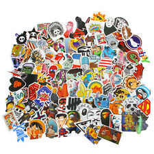 100X Random Luggage Stickers Pack Car Skateboard Guitar Fridge Decal Sticker