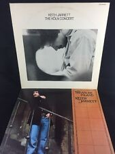 KEITH JARRETT 2 LP Lot Koln Concert ECM & Treasure Island IMPULSE/ABC Gatefold