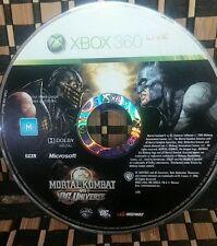 Mortal Kombat vs. DC Universe Xbox 360  (NO CASE) #10342