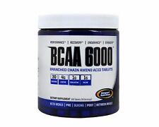 GASPARI NUTRITION BCAA 6000 180 TABS. BRANCHED CHAIN AMINO ACIDS LEUCINE HEAVY