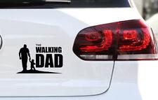 Baby on Board Aufkleber The Walking Dad Fun JDM Sticker Vatertag  Premium Folie