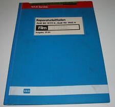 Werkstatthandbuch auf Microfich Audi 80 90 Typ 81 Diesel + Vergaser Motor 09/84