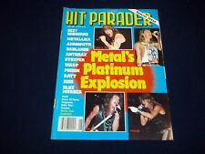 1989 JUNE HIT PARADER MAGAZINE - METAL'S PLATINUM EXPLOSION FRONT COVER - B 1673