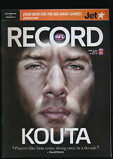 2007 AFL Football Record Collingwood Magpies vs Fremantle Round 10 unmarked