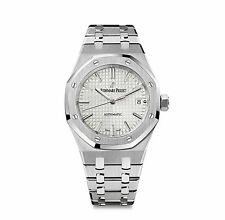 Audemars Piguet Royal Oak Ladies Automatic 37mm Silver Dial 15450ST.OO.1256ST.01