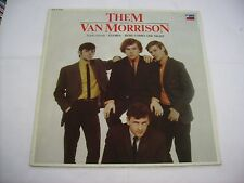 THEM - THEM FEAT. VAN MORRISON - REISSUE LP VINYL EXCELLENT CONDITION 1982