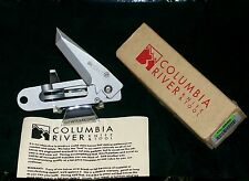 "Columbia River KISS Knife CRKT CL-5500 Lockback 3"" Closed W/Packaging,Paperwork"