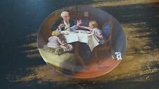 VINTAGE KNOWLES  CHINA NORMAN ROCKWELL PLATE